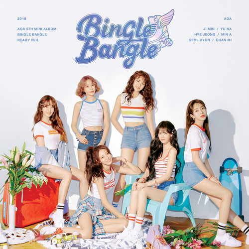 [AOA] AOA 5th Mini Album [BINGLE BANGLE] READY ver.