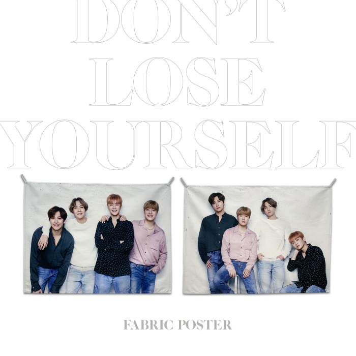 [FTISLAND] DON'T LOSE YOURSELF FABRIC POSTER